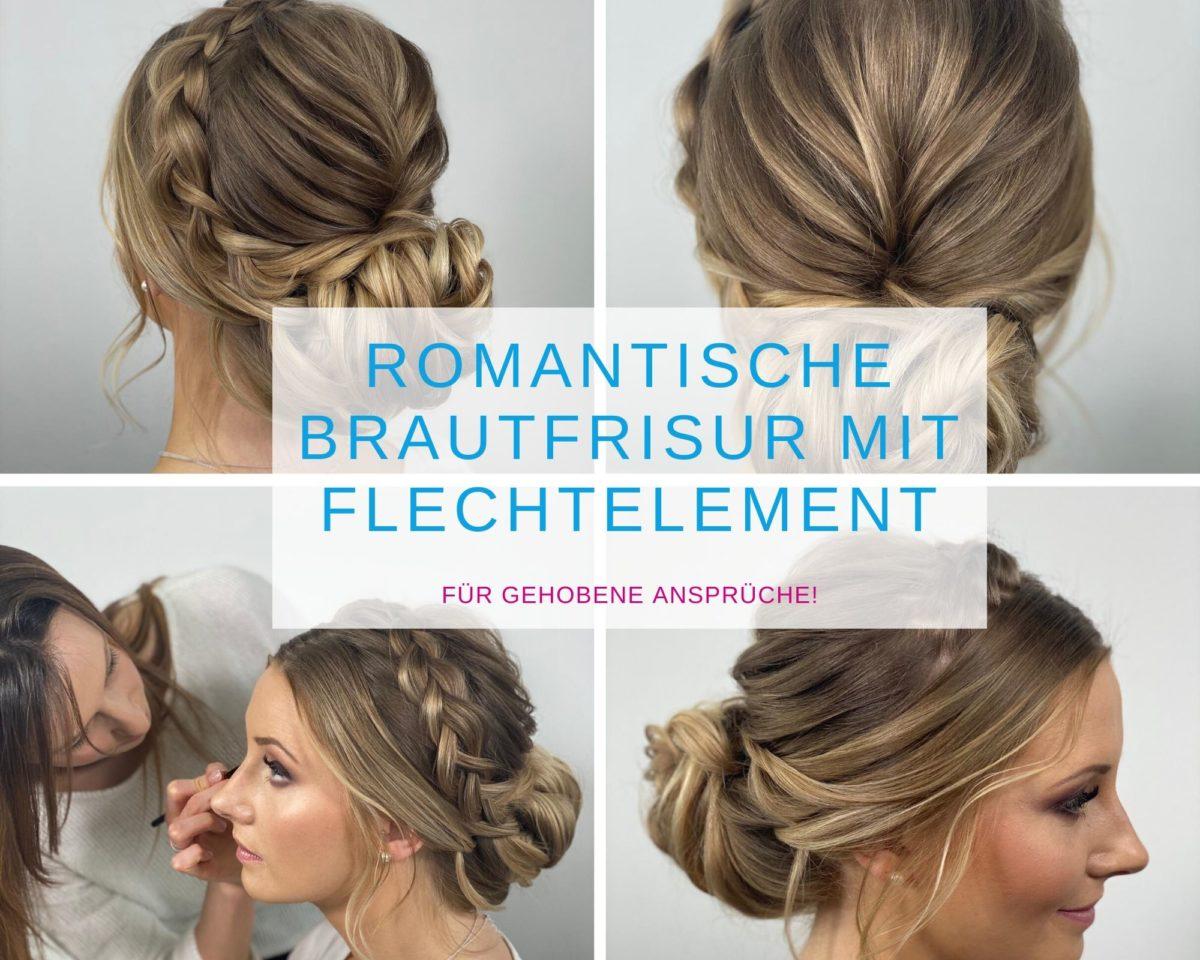 Romantische Brautfrisur mit Flechtelemente_KirchStyle