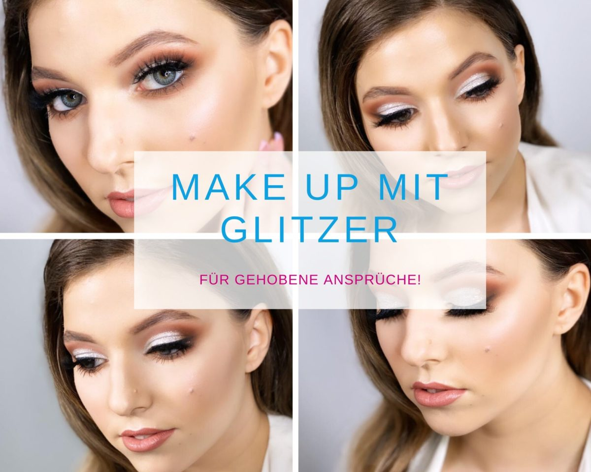 MakeUp mit Glitzer_Kirchstyle_Learning Manager
