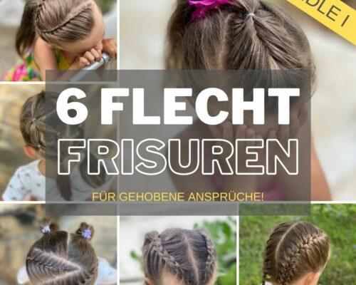 Mädchenfrisuren – Braid Hairstyles for Girls